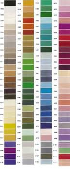 Brother Thread Conversion Chart Colour Charts