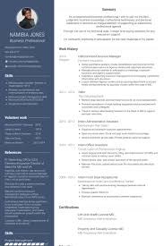 Csr Resume Samples Visualcv Resume Samples Database
