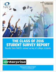 salary survey subscription the class of 2016 student survey report