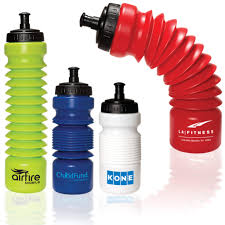 logo personalized unique innovative accordion water bottle outdoor sports water bottle for branding advertising