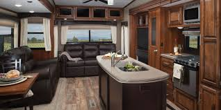 eagle fifth wheel strong inviting kitchen strong the kitchen is always a welcome gathering