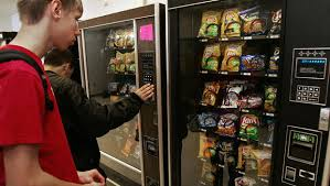 Lunch Vending Machines Inspiration New USDA Rules Would Remove Junk Food From School Vending Machines