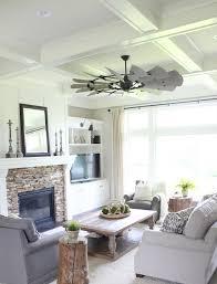 ceiling fan that looks like a windmill. the windmill blade fan is clever ceiling that looks like a t
