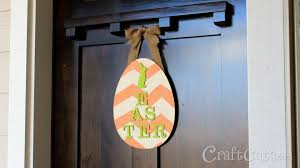 Decorative Door Hangers Diy Easter Door Hanger Youtube