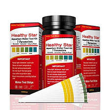 Tetra Test Strips Color Chart Healthy Star Aquarium Test Strips 7 In 1 Aquarium Test Kit 100ct Best Kit For Accurate Water Quality Testing For Aquarium Fish Ponds