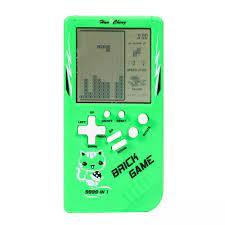 Máy Chơi Game Cầm Tay Tetris Trò Chơi Gạch Đồ Chơi Xếp Hình Cho Trẻ Em Cổ  Điển Tuổi Trẻ