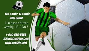 Soccer Business Card Soccer Business Card Template Postermywall