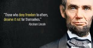 Abraham Lincoln Quote Mesmerizing Quotes By Abraham Lincoln As Well As Quote On Freedom For Prepare