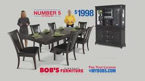 Bobs Furniture Kitchen Table Set Number 5 Dining Room Set 999 Bobs Discount Furniture Youtube