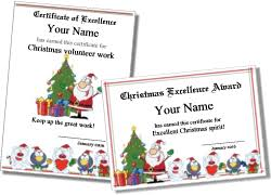 Easily edit this free certificate download in microsoft word. Printable Christmas Certificates