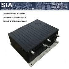 cummins n14 ecm cummins celect plus ecm l10 m11 ecm n14 ecm repair return 3096662