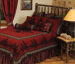 wooded river bear bedding sets