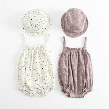 cotton rompers <b>boy girl</b> jumpsuit sleeveless romper summer <b>new</b> ...