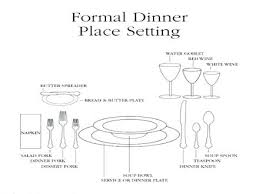 formal breakfast table setting. Formal Breakfast Table Setting And Meal Service Interior Doors Long Island G