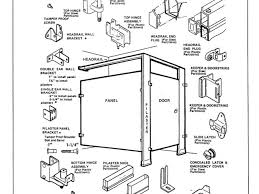 bathroom stall parts. Noted Toilet Partition Hardware Bathroom Partitions Parts Donatz Stall