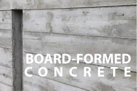 Making Cement Forms Board Formed Architectural Concrete Walls How To Youtube