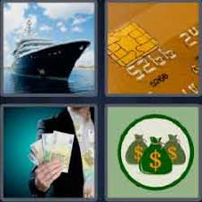4 pics 1 word 7 letters level 3727 wealthy