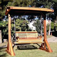 wooden swinging benches plans for swing frame