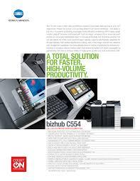 Download the latest drivers and utilities for your konica minolta devices. Https Www Nova Edu Copy Forms Bizhub C554 Spec Sheet Pdf