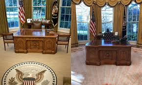 John F Kennedy Oval Office Chair The History Company Pertaining To