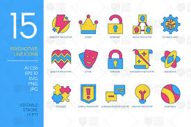 A set of hamburger menu open/close animations in svg, html and css. Pin By Kodhibanks On Objects And Icons In 2020 Icon Design Icon Set Alphabet Illustration
