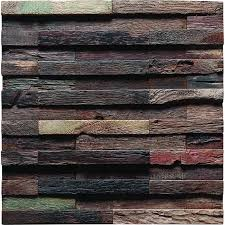 tst irregular tiles mosaic old wood wall uneven surface designed remodeling deco art
