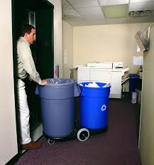 Garbage Can Outdoor Garbage Can 30 Gallon Kitchen Trash Can 13 Gallon Trash  Can Recycling Trash