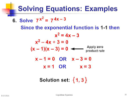 solving equations examples