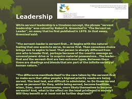 environment ppt  leadership