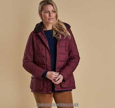 barbour ilkley quilted jacket with burdy k67r6485 women quilted jackets