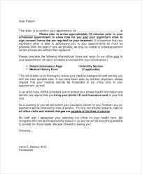 Doctor Appointment Letter Template Free Word Pdf Format Download