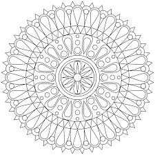 Small Picture Mandala Coloring Pages Throughout Printable Coloring Pages glumme