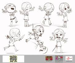 actions and expressions of young maria in the book of life