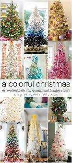 Decorating with Non-Traditional Christmas Colors @Remodeaholic #holidays # decorating #christmas