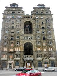 the abandoned divine lorraine hotel in philadelphia