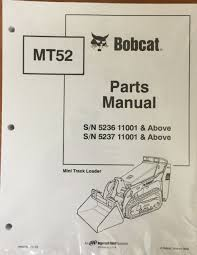 bobcat mt52 mini track loader parts manual shop book 1 part Bobcat 753 Parts Diagram bobcat mt52 mini track loader parts manual shop book 1 part 6902706 bobcat 753 parts diagram free