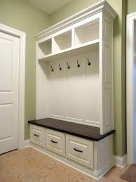Coat Rack Design Plans Inspiration How To Build Mudroom Storage Mudroom Cabinets Storage Locker Bench
