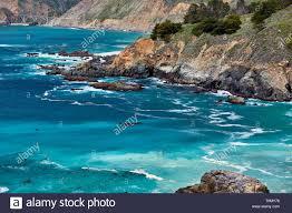 Pacific Coast Landscape Design Inc Pacific Coast Landscape In California Stock Photo 245093498
