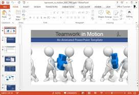 Teamwork Presentations Animated Teamwork Templates For Powerpoint Presentations