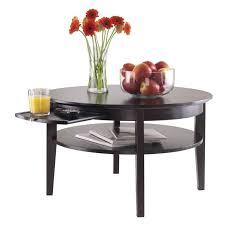 pemberly row round coffee table with