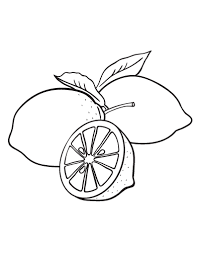 Small Picture Printable lemon coloring page Free PDF download at http