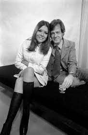 Diana Rigg and Robert Culp who star in the television drama Married Alive  written by John Mortimer. December 1969 | Avengers girl, Diana riggs, Dame  diana rigg
