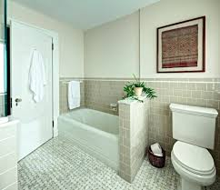 Can U Paint Bathroom Tile Painted Tile Update Your Bathroom Floor ...