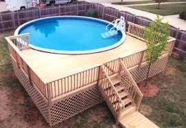 above ground round pool with deck. Fine Ground Above Ground Pool Deck Designs Astonishing Pools With Decks  For Swimming Incredible Ideas S 24 Ft  On Round U