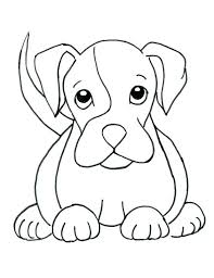 Boxer Dog Coloring Pages Dog Coloring Pages Dogs Coloring Pages And