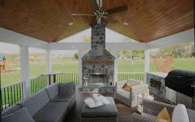 peachy design ideas screen porch fireplace 15 maryland screened with design