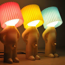 Naughty boy Mr.P a little shy man <b>creative</b> lamp small <b>night lights</b> ...