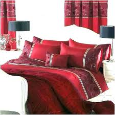 red black duvet cover red and black duvet cover queen