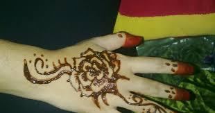 Simple henna finger tattoo designs. Henna Tangan Simple Corak Inai Simple Di Jari