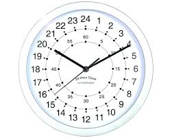 Tell The Time Clock Free Printable By Large Face Template